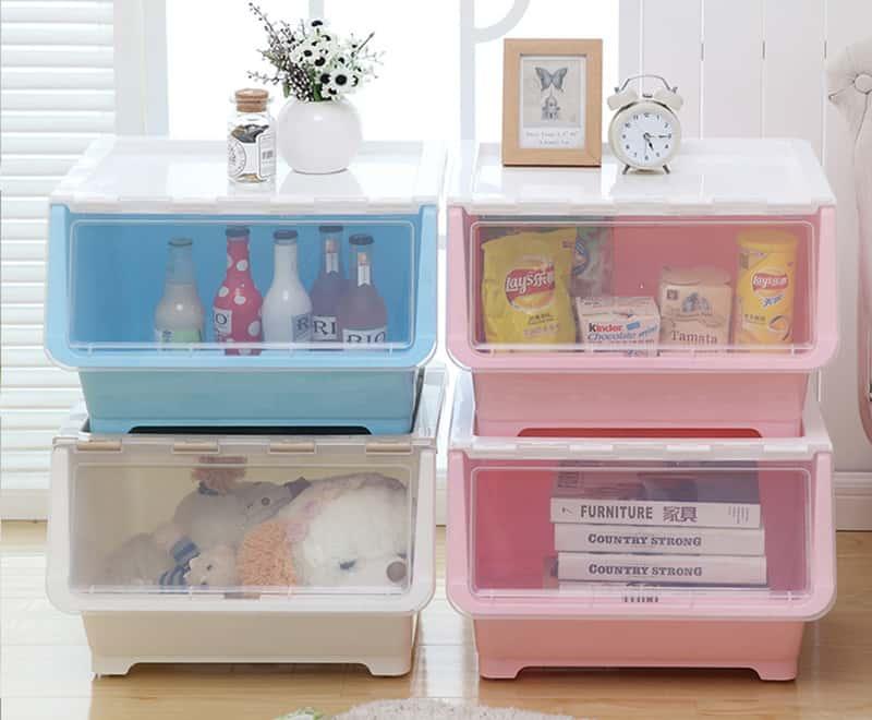 多機能家庭用収納ボックス