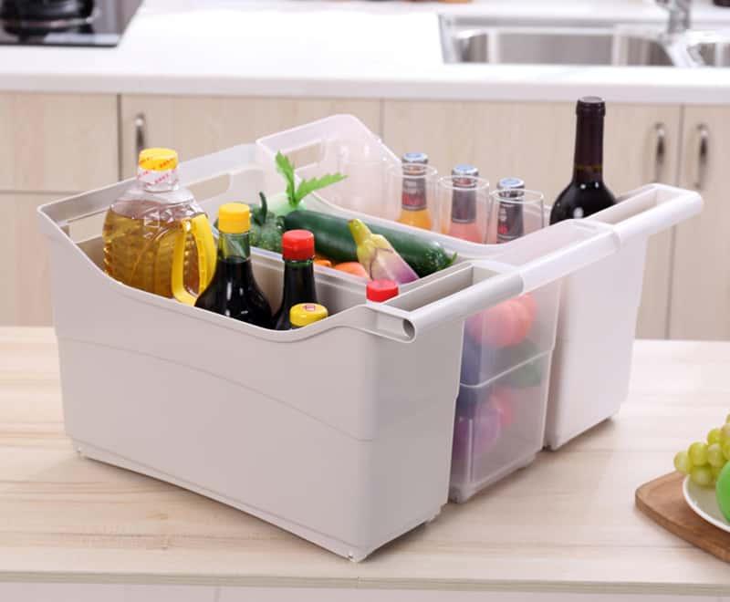 キッチン取っ手収納ボックス
