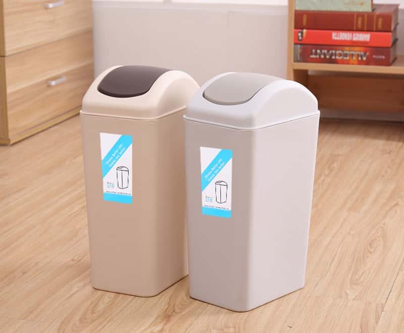 8 L蓋式ゴミ箱